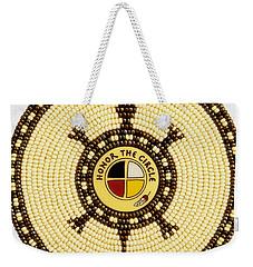 Honor The Circle Weekender Tote Bag
