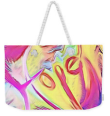 Weekender Tote Bag featuring the mixed media Hope by Jessica Eli