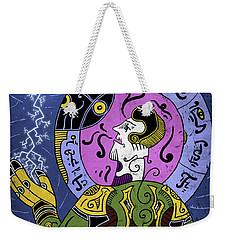 Weekender Tote Bag featuring the digital art Incal by Sotuland Art