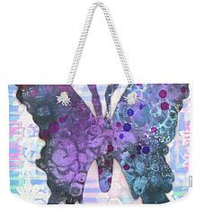 Inspire Butterfly Weekender Tote Bag