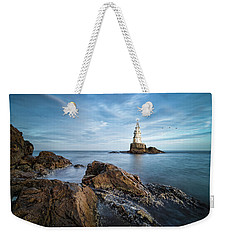 Lighthouse In Ahtopol, Bulgaria Weekender Tote Bag