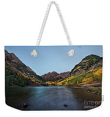 Maroon Bells Weekender Tote Bag