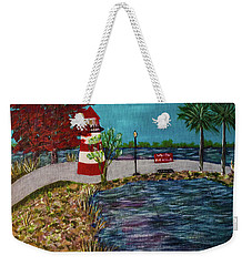 Mount Dora Lighthouse Weekender Tote Bag