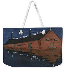 Weekender Tote Bag featuring the painting Noah's Ark by Ivar Arosenius