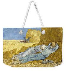 Noon - Rest From Work Weekender Tote Bag
