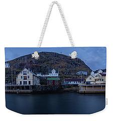 Norwegian Seaside Town Nyksund Weekender Tote Bag