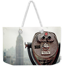 Observation Weekender Tote Bag