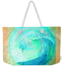 Ocean Earth Weekender Tote Bag