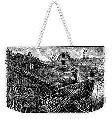 Pheasants Weekender Tote Bag