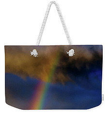 Rainbow During Sunset Weekender Tote Bag