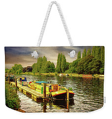 River Work Weekender Tote Bag