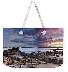 Stormy Sunrise Seascape Weekender Tote Bag