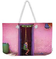 Swing Weekender Tote Bag