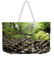 The Bluesy Bubbling Brook Weekender Tote Bag
