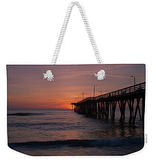 Weekender Tote Bag featuring the photograph Virginia Sunrise by Pete Federico