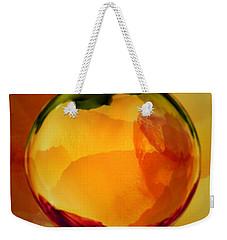 Watercolor Glass Marble  Weekender Tote Bag