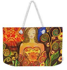 Zen Morning Weekender Tote Bag