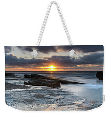 A Moody Sunrise Seascape Weekender Tote Bag
