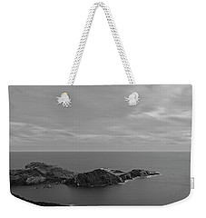 Dawn In Black And White In The Cap De Creus Weekender Tote Bag