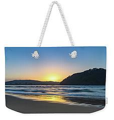Hazy Sunrise Seascape Weekender Tote Bag