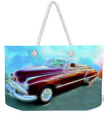 1949  Buick Convertable Weekender Tote Bag