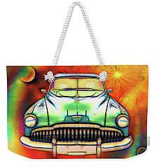 1949  Buick Headon Weekender Tote Bag