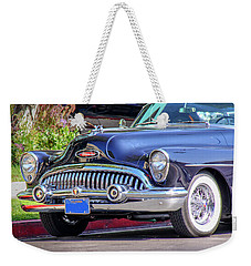 1953 Buick Skylark - Chrome And Grill Weekender Tote Bag