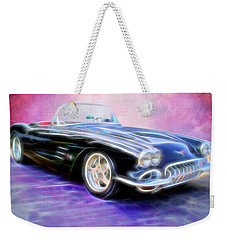 1958 Chevrolet Corvette Weekender Tote Bag