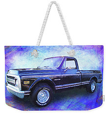 1970 Chevy C10 Pickup Truck Weekender Tote Bag