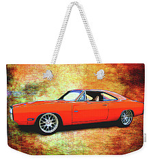 1970 Dodge Charger Weekender Tote Bag