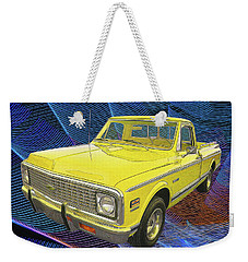 1972 Chevy Pickup Truck Weekender Tote Bag