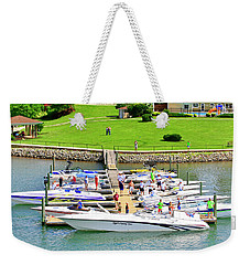 2017 Poker Run, Smith Mountain Lake, Virginia Weekender Tote Bag