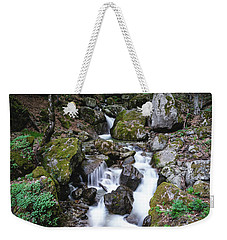 Bela River, Balkan Mountain Weekender Tote Bag