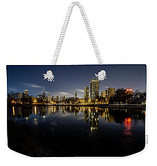 Chicago Skyline At Dawn  Weekender Tote Bag