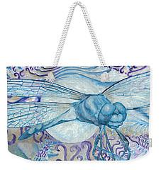 Dragonfly Moon Weekender Tote Bag