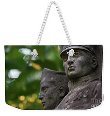 Weekender Tote Bag featuring the photograph Monument To The Duchess Of Victory Genoves Park Cadiz Spain by Pablo Avanzini