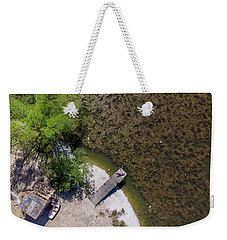 Weekender Tote Bag featuring the photograph Pier by Okan YILMAZ