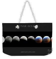 Super Blood Wolf Moon Weekender Tote Bag
