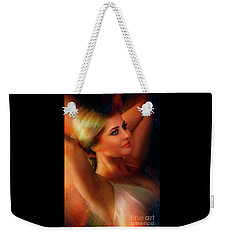 2018 Miss California Petite Kayla Burton  Weekender Tote Bag
