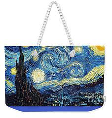 Starry Night By Van Gogh Weekender Tote Bag