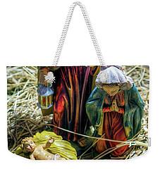 Birth Of Jesus Weekender Tote Bag
