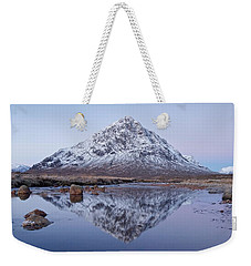 Weekender Tote Bag featuring the photograph Dawn In Glencoe by Stephen Taylor
