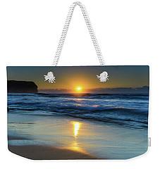 Sunrise Lights Up The Sea Weekender Tote Bag