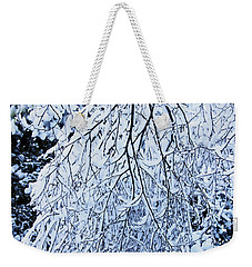 30/01/19  Rivington. Snow Covered Branches. Weekender Tote Bag