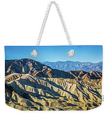 Weekender Tote Bag featuring the photograph Death Valley National Park Scenes In California by Alex Grichenko
