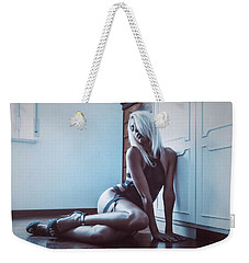 Weekender Tote Bag featuring the photograph 3862 by Traven Milovich