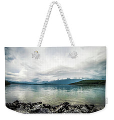 Weekender Tote Bag featuring the photograph Scenery Around Lake Jocasse Gorge by Alex Grichenko