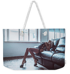 Weekender Tote Bag featuring the photograph 3904 by Traven Milovich