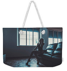 Weekender Tote Bag featuring the photograph 3913 by Traven Milovich
