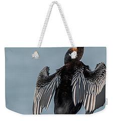 Australasian Darter Weekender Tote Bag